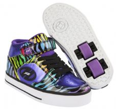 Heelys X2 Cruz Purple-Rainbow-Zebra